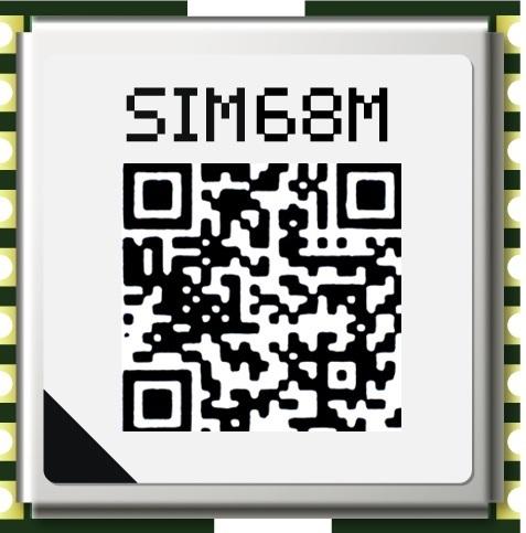 SIM68M - GPS/GNSS
