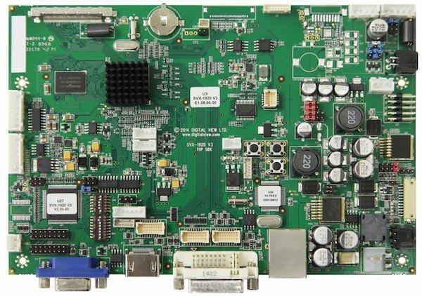 SVX-1920v3 LCD Controller