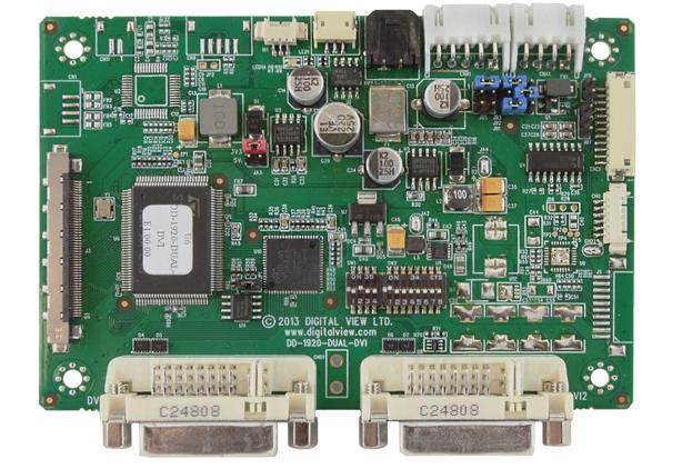 DD-1920-Dual-DVI Interface Controller Board