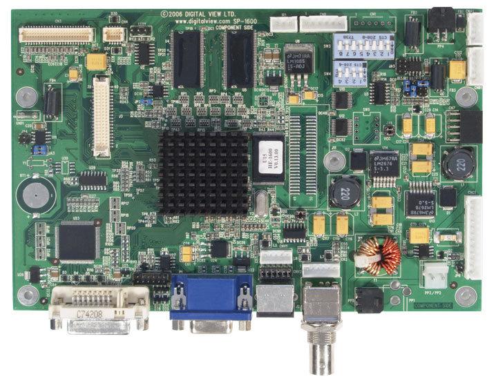 HE-1600 LCD Controller Board