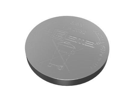 Li-ion Battery-Button Type
